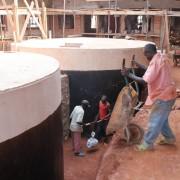 Gradnja vodnjakov za zdravstveni center v Ruzo v Burundiju