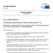 EP-Resolucija_enakost
