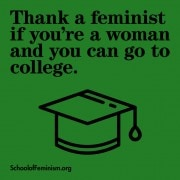 thank a feminist_college