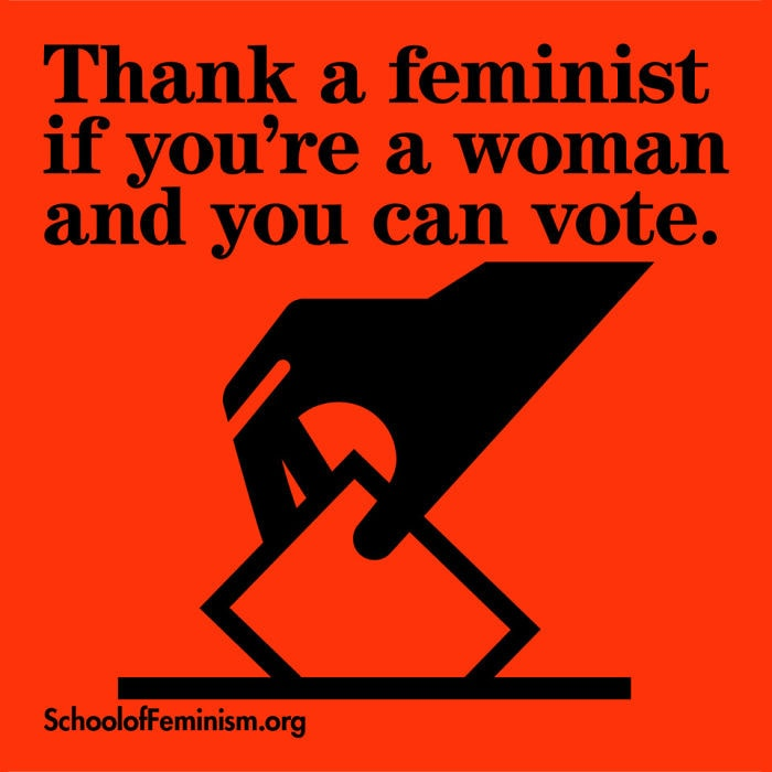 thank a feminist_vote