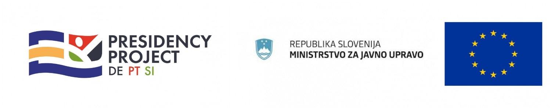 EU PP: logotip eu pp, mju in eu