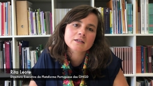 Rita Leote, predsednica NGDO. Vir: you tube
