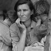 Mati migrantka. Foto: Dorothea Lange/Wikimedia Commons