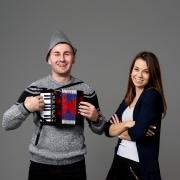 Miroslav in Klara, Youtube kanal Vamo tamo. Foto: Jaka Šuln